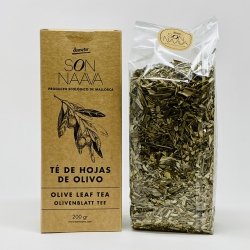 Tea from olive leaves