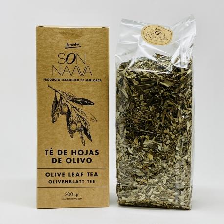 Té de hojas de olivo