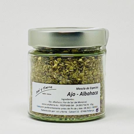 Ajo - Albahaca / Knoblauch Basilikum