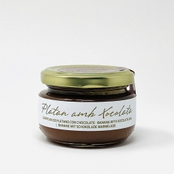 Banana-Chocolate Jam