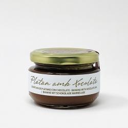 Banane-Schokolade Marmelade