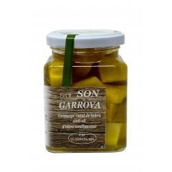 Ziegenkäse mit Rosmarin in Olivenöl