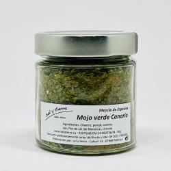 Mojo verde Canario