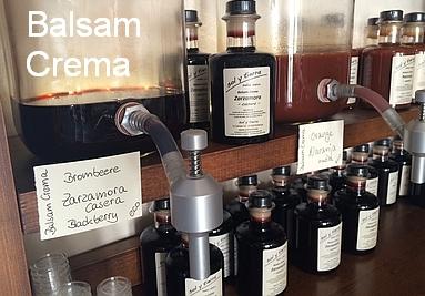 Balsamico Mallorca / Balsam Crema / eigene Herstellung (Pollença / Mallorca)
