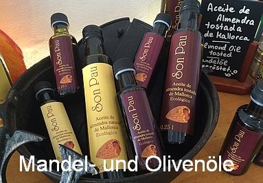 Mandel- und Olivenöle von Pep und Miguel (Mallorca)